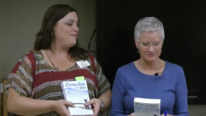 Celeste and Judith at booksigning event