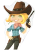 Cowgirl Cartoon